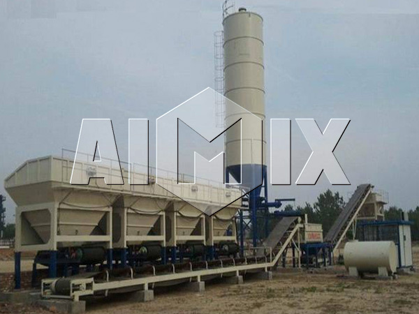 Stationary Type Stabilized Soil Mixing Plant Two