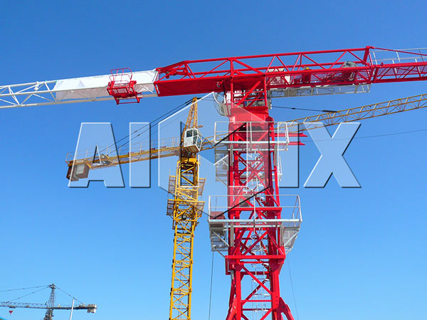 Tower Crane Red