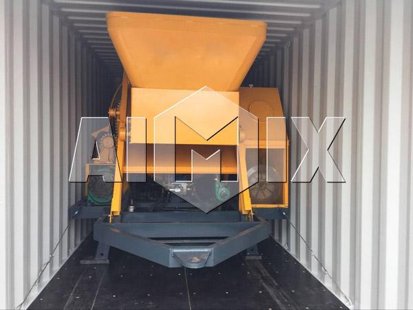 Delivery of AIMIX JBS30 Concrete Mixer Pump