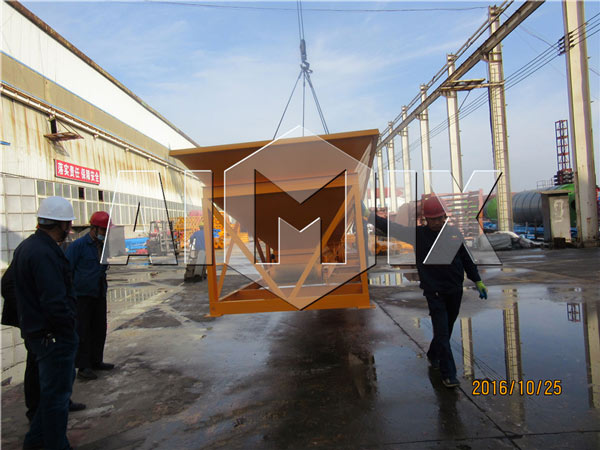 Our Concrete Making Machine has been Exported to Uzbekistan