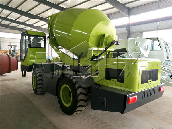 AIMIX 0.35m³ self loading concrete mixer has been transported to Zambia successfully