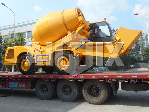 Aimix Group self loading concrete mixer for sale