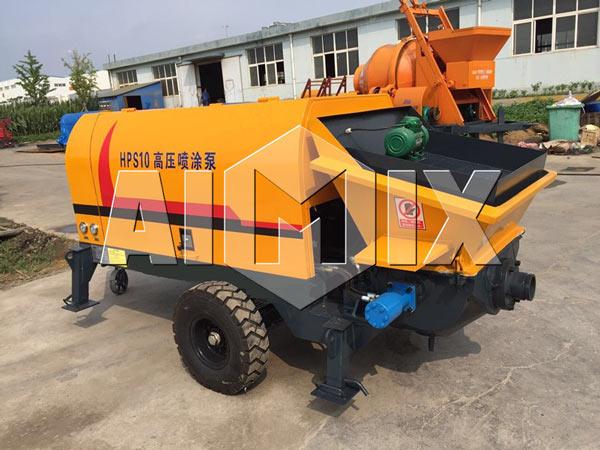 HPS10 AIMIX Cement Mortar Pump