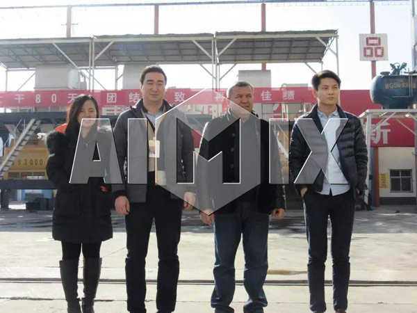Our Users from Kyrgyzstan to Visit Our Company and Factory