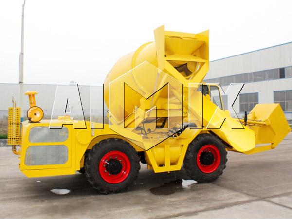 2.5m³ Self Loading Concrete Mixer