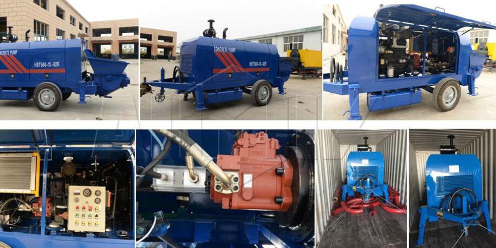 60 diesel engine pump was sent to Philippine