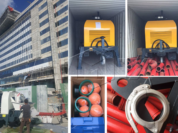 60 electric pump was ready to Philippine