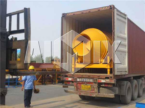 AIMIX Concrete Drum Mixer for Exporting