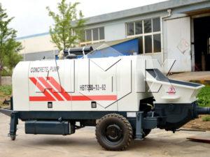 AIMIX HBT50 Small Diesel Concrete Pump