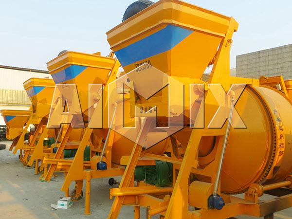 AIMIX JZC350 Mobile Concrete Mixer
