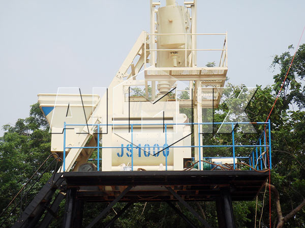 Weighing System of Concrete Batch Plant