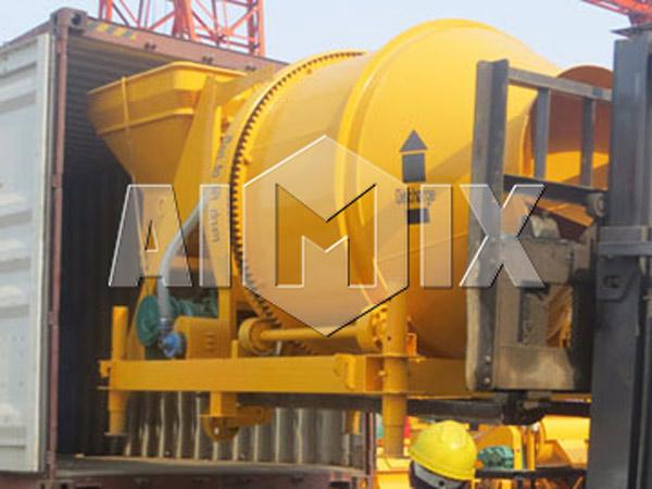 Delivery of AIMIX JZC500 Mobile Concrete Mixer