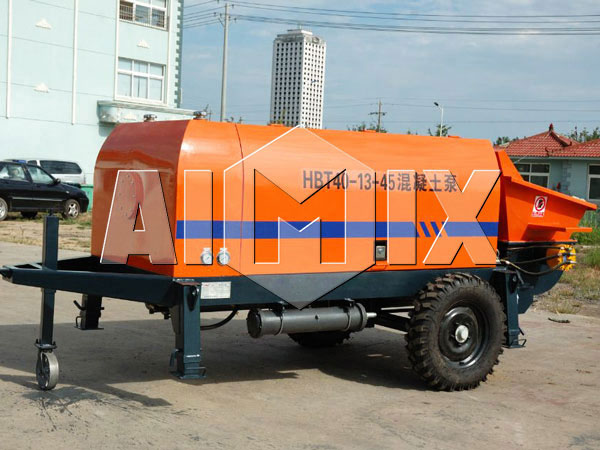 HBT40 concrete pump small