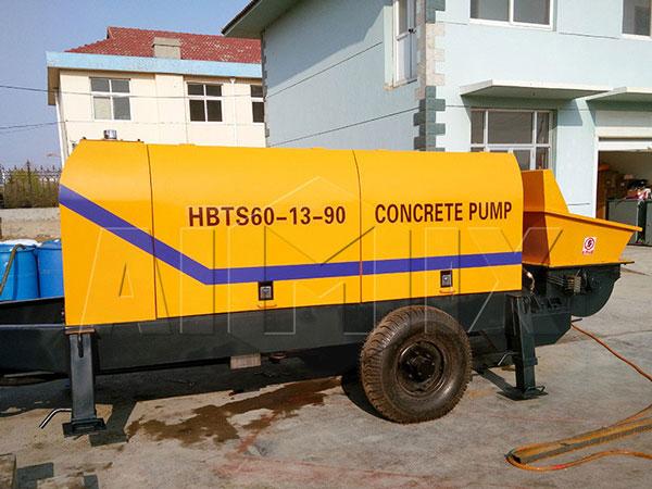 HBTS60 concrete pump small