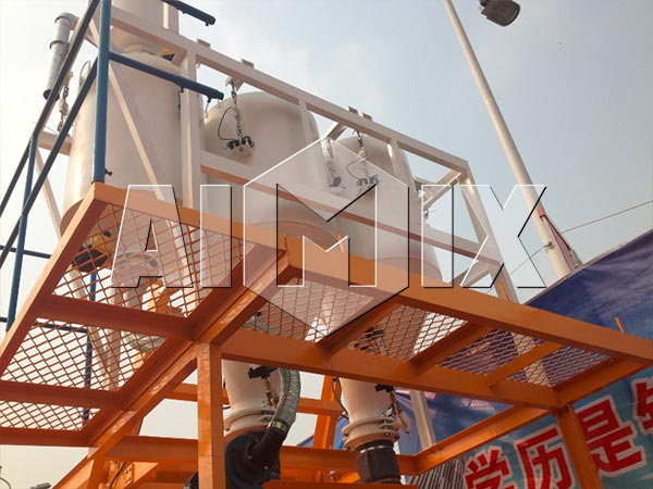 Weighing System of Cement Plant