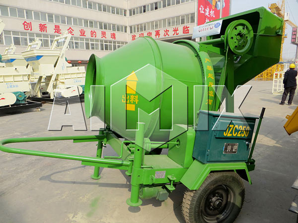 JZC250 Mobile Concrete Mixer For Sale