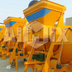 AIMIX JZC350 Concrete Drum Mixer Can be Used with Electricity or Oil