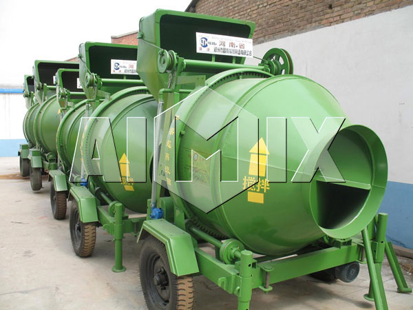 JZC350 Concrete Drum Mixer of AIMIX