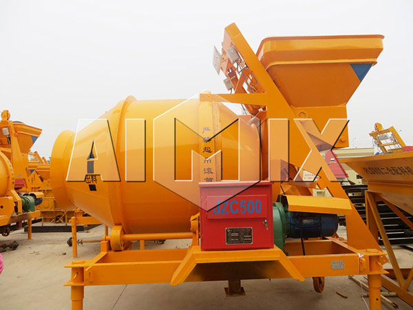 JZC500 Concrete Drum Mixer