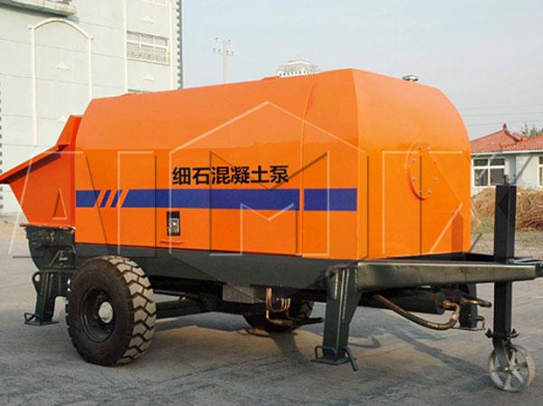 XHBT-25SR diesel concrete pump