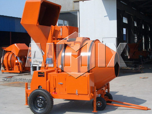 AIMIX Diesel Portable Concrete Mixer for Sale