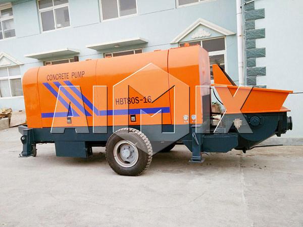 AIMIX HBT80 Mobile Concrete Pump
