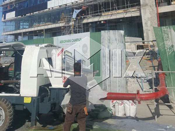 AIMIX HBTS60 Diesel Concrete Pump in Philippines