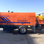 AIMIX HBTS80 Diesel Concrete Pumps are Best Selling in the Vietnam Recently
