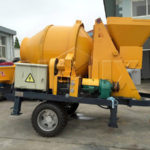 AIMIX JBS30 Electric Concrete Mixer Pump was Exported to Russia Today