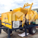 AIMIX JBS30 Electric Concrete Mixer and Pump was Sold to Paraguay with High Reputation