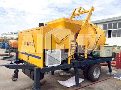 AIMIX JBS30 Electric Concrete Mixer with Pump for Sale