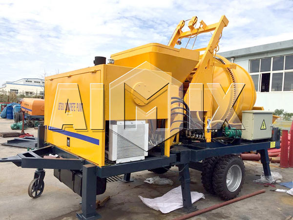 AIMIX JBS30 Electric Concrete Mixer with Pump for Sale