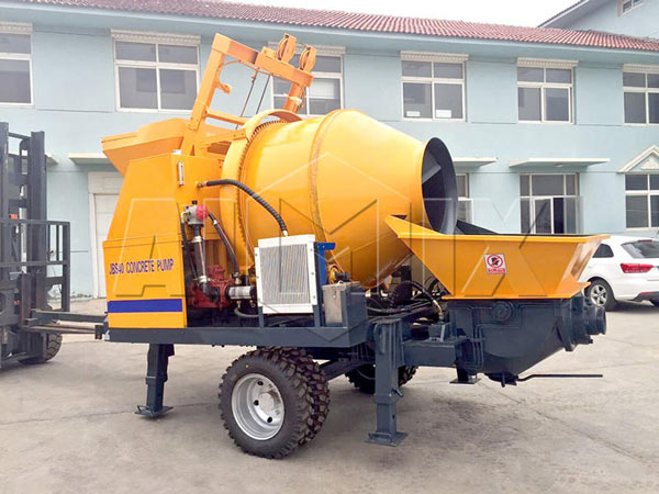 AIMIX JBS40 Electric Concrete Mixer Pump is Sold to Pakistan