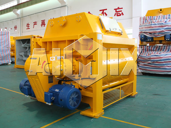 AIMIX SICOMA Twin Shaft Concrete Mixer for sale