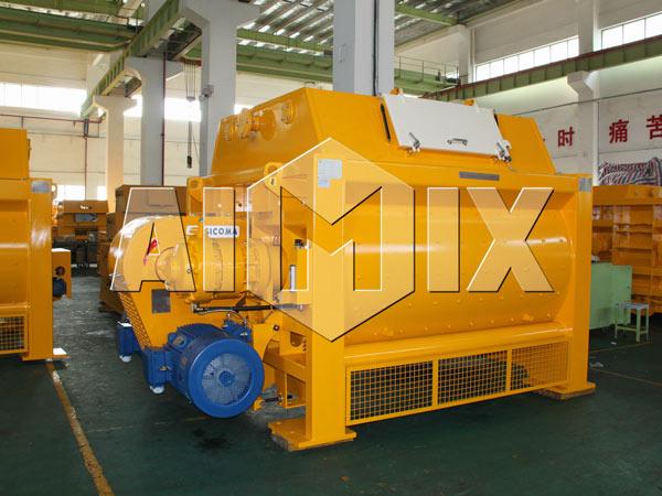 AIMIX SICOMA Twin Shaft Concrete Mixer
