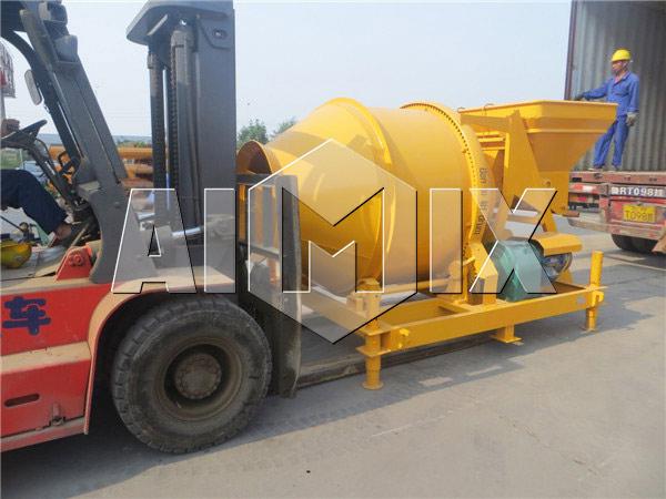 Delivery of AIMIX Large Portable Concrete Mixer