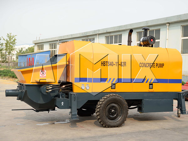 HBTS40 AIMIX Portable Concrete Pump for Sale