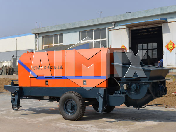 HBTS50 AIMIX Portable Concrete Pump for Sale