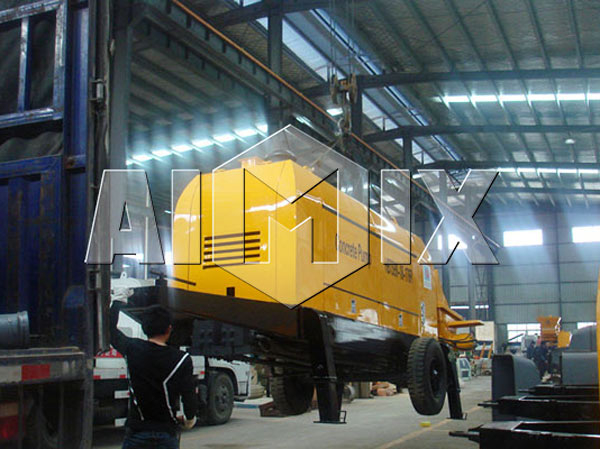 Packing of AIMIX Portable Concrete Pump