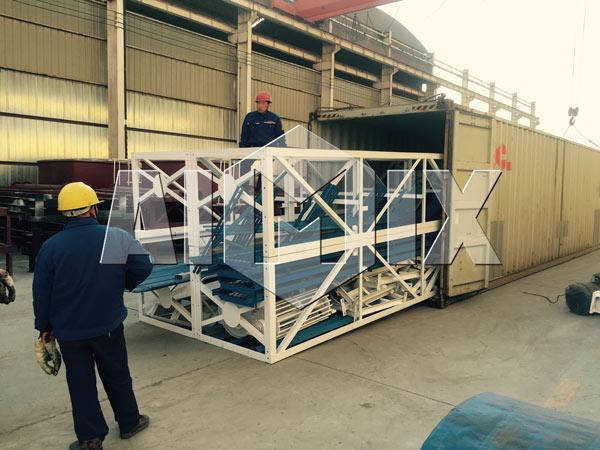 embalagem de Aimix Grupo HZS60 Central dosadora de concreto