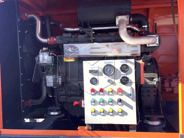 Oil Pump of AIMIX HBTS80 Diesel Concrete Pump