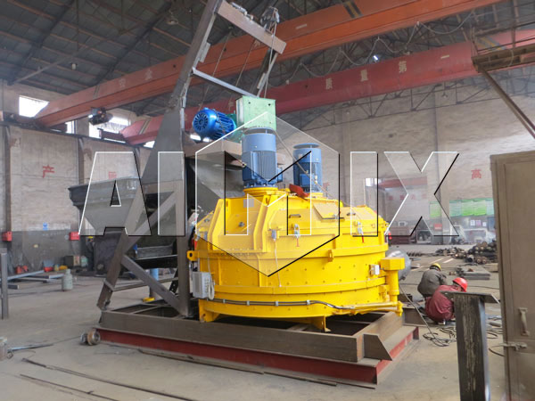 AIMIX Planetary Concrete Mixer is in Production