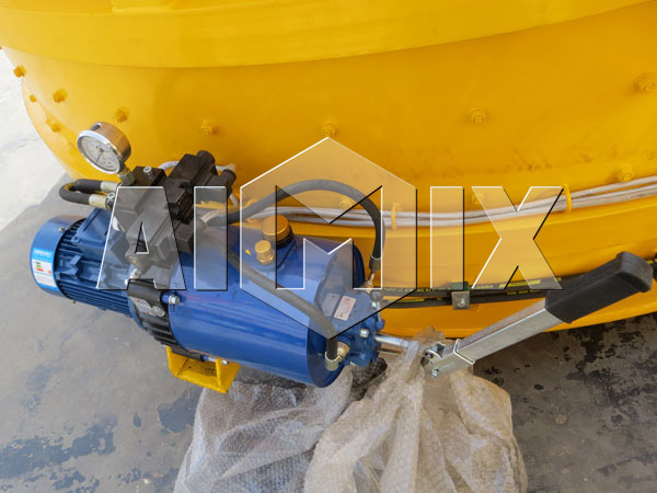 High Pressure Cleaning Device of Planetary Concrete Mixer
