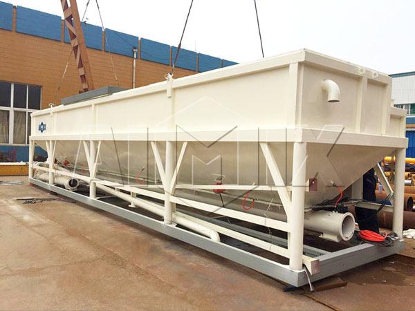 silo de cimento horizontal