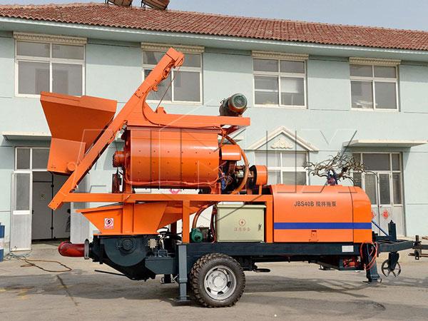 ABJS40D-JS750 compulsory concrete mixer pump