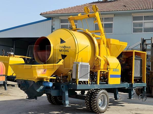 bomba misturadora de concreto a diesel