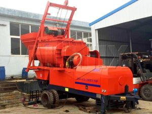 electrical concrete pump