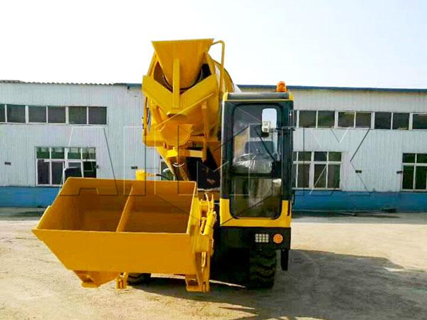 self-loading-concrete-mixer