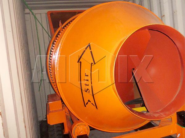 misturador de concreto a diesel