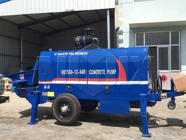 HBTS50-SR concrete pump